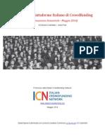 Analisi delle piattaforme italiane di crowdfunding 2014