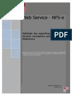 Manual NFS-e - Webservice Versão 2.02