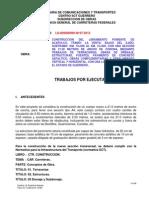 Trabajos Por Ejecutar N197-2012