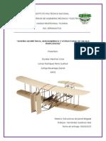 Diseño geométrico, aerodinámico y estructural de un ala trapezoidal