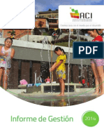 Informe de Gestion 2014 - Agencia de Cooperación e Inversión de Medellín y el Área Metropolitana