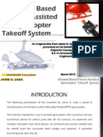 Gyrocopter Ground Based Power Assisted JTO System - an idea from Jaime G Sada