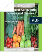 Academic  Research Journal of Agricultural Science and Research, Volume 3, Number 2