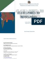 Atlas de La Pobreza Provincia Peravia 2010.