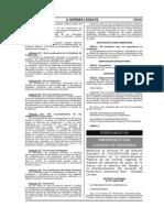 Norma 1934 Decreto Supremo Nro 077 2008 Pcm