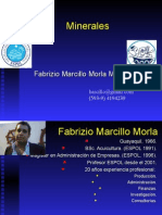 Clase07 - Minerales