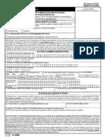 VA Claim Form