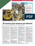 20 Normas para Internet