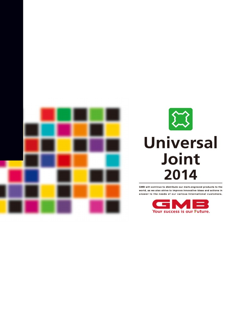 Universal Joint 2014 GMB | Nissan | Car Manufacturers