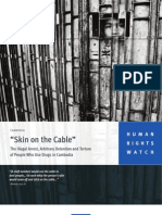 """""""Skin on the Cable"""" Human Rights Watch-Cambodia"""