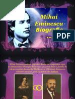 Biografie Eminescu
