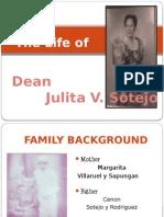 JVS - Dean Julita V. Sotejo