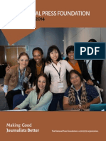National Press Foundation 2014 Annual Report