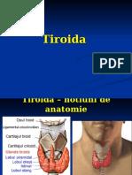 Tiroida Curs