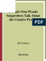 DeMain-In Their Own Words-Songwriters Talk About the Creative Process