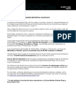 MEtropoli Gijon - Nota de Prensa II