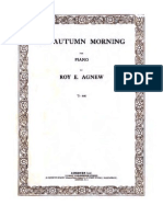 Agnew - An Autumn Morning