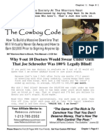 CowboyCode (Sample of Joe Schroeder's Warriors Nest)