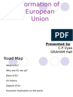 Formation of European Union