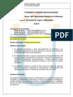 Examen Nacional Por ABP 2014-II