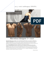 Marvelous Designer 3