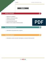 Reporte Comercio Inversion Octubre Diciembre 2014