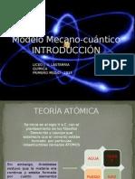 Modelo Mecano-cuántico 1° medio 2015