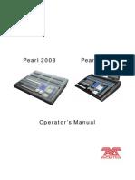 Pearl 2008 and Tiger Manual