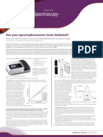 Article-Has Your Spectrophotometer Been Validated LMUK 14