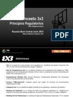 3x3 Principios Regulatorios