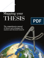 Mapping Your Thesis Theory Techniques Masters Doctoral Research