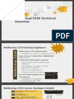 NetBackup-5330 Appliance Hardware Specifications