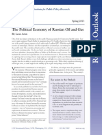 The Political Economy of Russian Oil and Gas