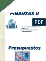 Presentación Curso Finanzas II