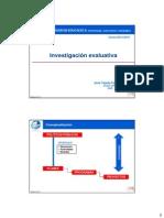 2014 Investigación Evaluativa CONCEPTUALIZACION