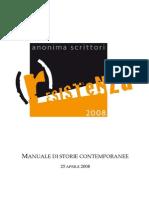(r)Esistenza 2008 - MANUALEDISTORIECONTEMPORANEE