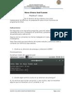 Practicas de comandos Linux