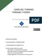 Turismo y Poder- Joan Amer Fernandez-sociologia Del Turismo