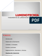PDE - Luminotecnia