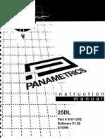 panametrics 25dl multi mode ultrasonic thickness gage with internal rh scribd com User Manual Bissell PowerSteamer User Manual