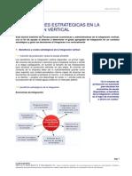 Implicaciones Estrategicas en La Integracion Vertical