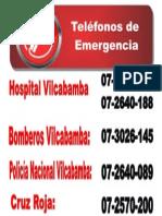 Número de Emergencia