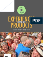 Experience products