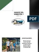 Avance Del Semestre 1 g u Diapositivas