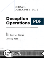 Deception Operations