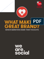 We a re social Project reconnect great brands