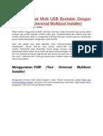 Multiboot Instaler Tutor