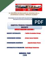 Carpeta Pedagogica 2013 Secundaria