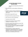 QB Management Information System