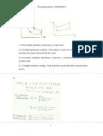 Thermodynamics Assignment 3